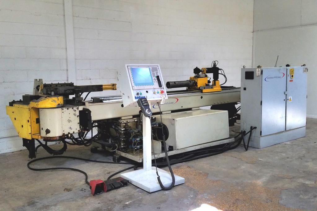 "3-1/2"" Addison McKee #DB-89 CNC Tube Bender"