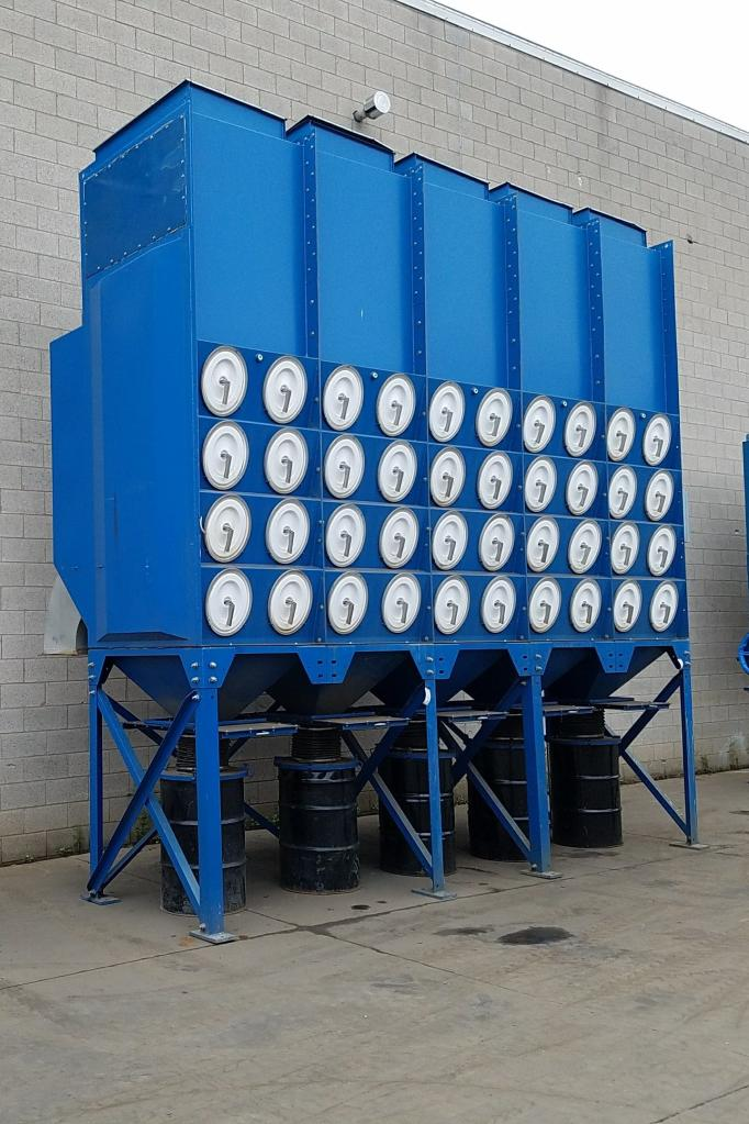 44,000 cfm Donaldson Torit #DFO4-80 EDAP Cartridge Dust Collector