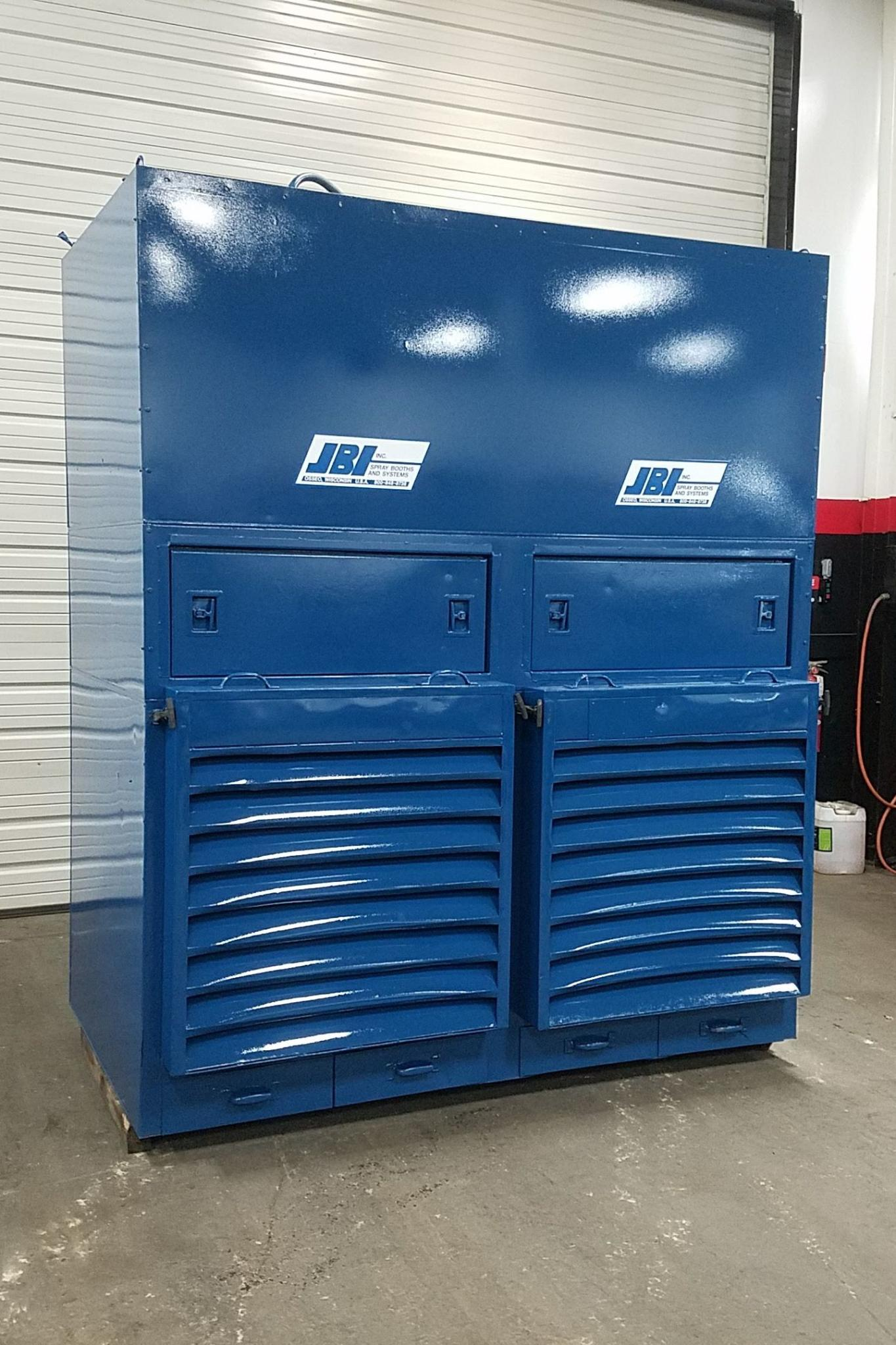 8,960 cfm JBI Double Module #7-SG Booth Dust Collector