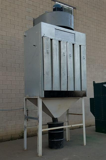 Additional image #1 for 16,000 cfm Envirosystems Air Wall #HD160 Booth Type Dust Collector