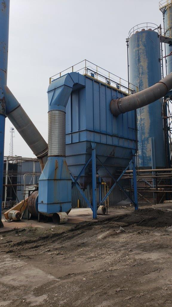 50,000 cfm Air Inc #2715-405-12 Baghouse Dust Collector