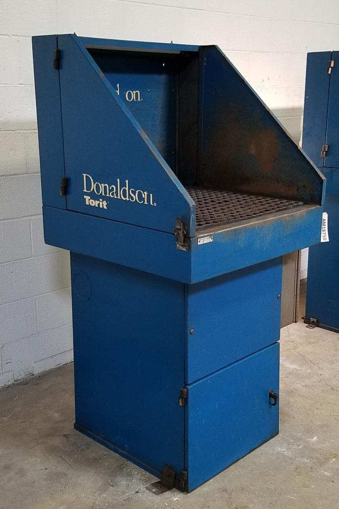 800 cfm Donaldson Torit #DB800 Downdraft Dust Collector