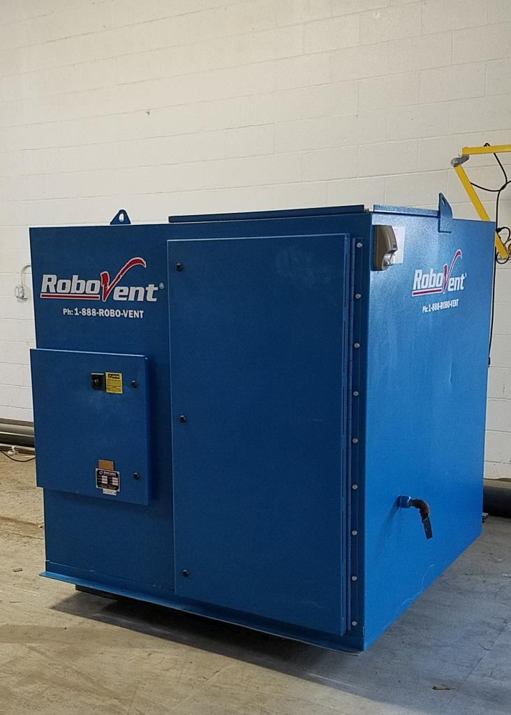 4,000 cfm Robovent #DFS-4000-4 Cartridge Dust Collector