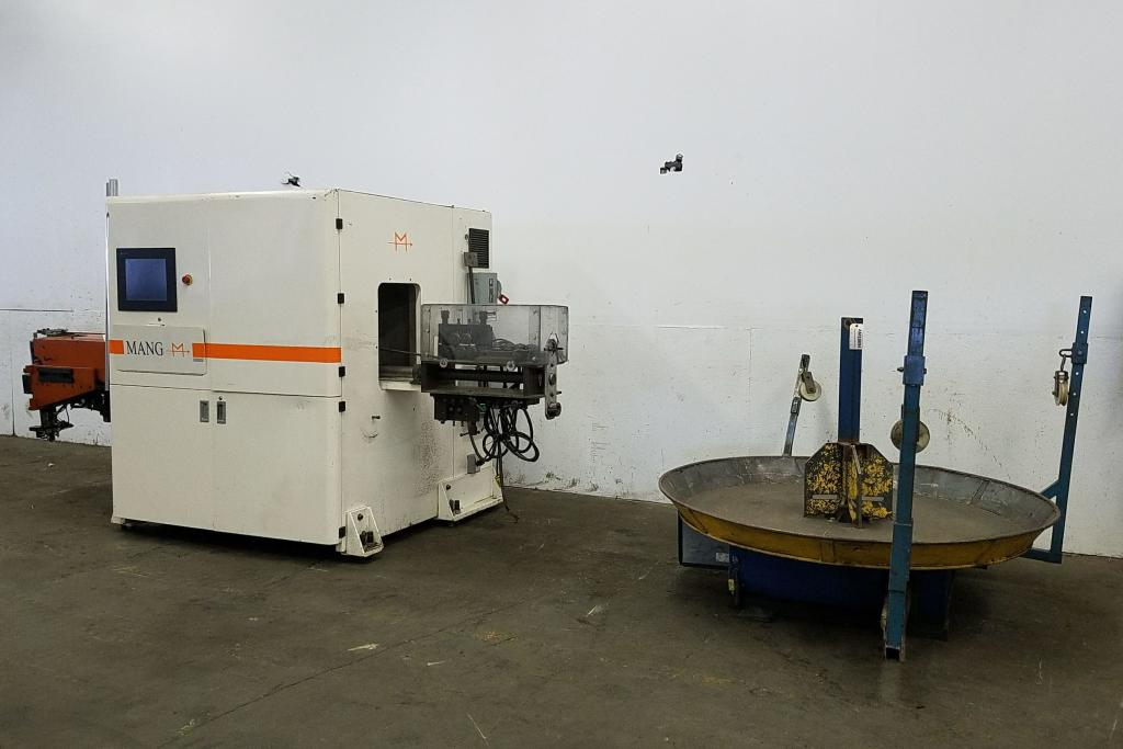 10 mm Mang #6S-10 3D CNC Wire Bender