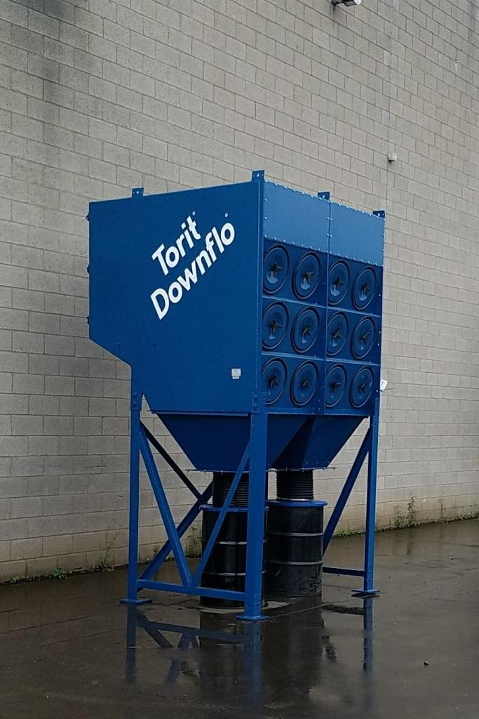 12,000 cfm Donaldson Torit #DFT3-24 Cartridge Dust Collector