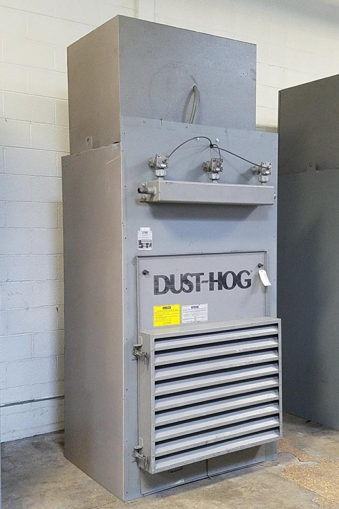 4,500 cfm UAS Dust-Hog #FFBW Booth & Backdraft Dust Collector