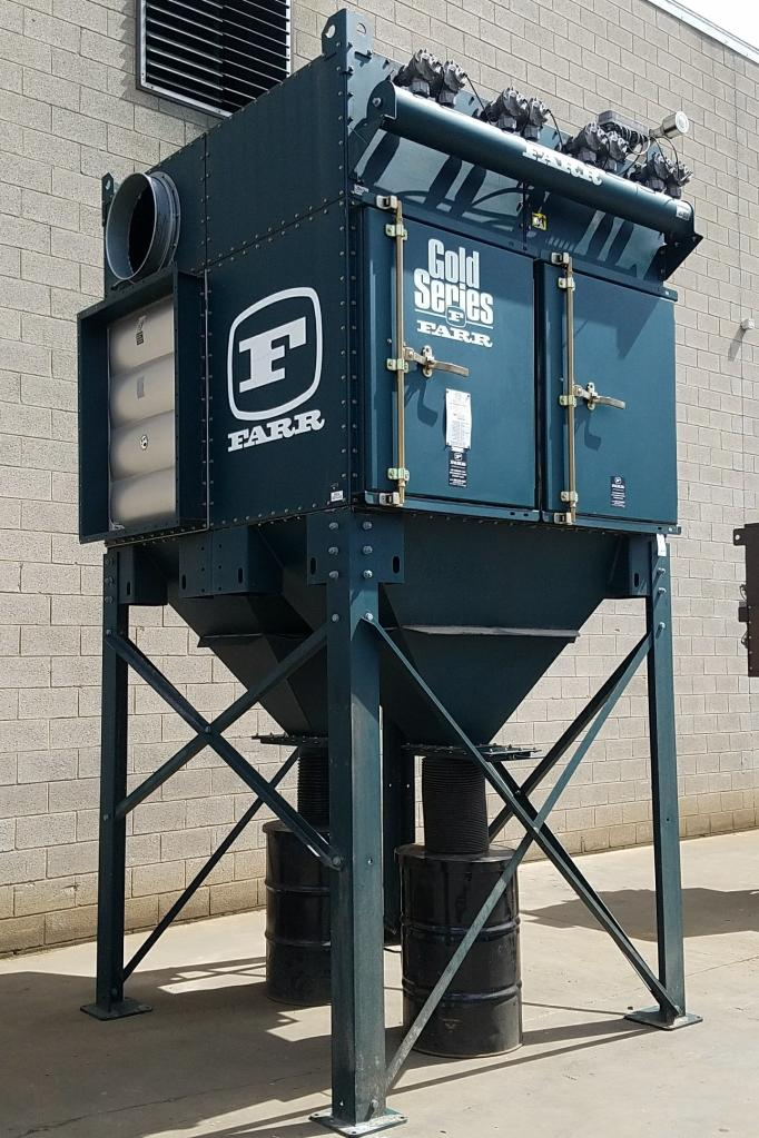 14,000 cfm Camfil Farr #GS-16 Cartridge Dust Collector