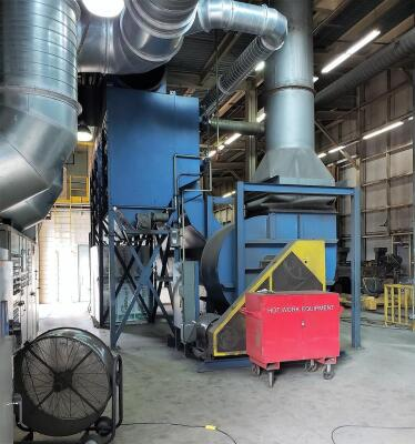 70,000 cfm Donaldson Torit #DFT4-120 Cartridge Dust Collector
