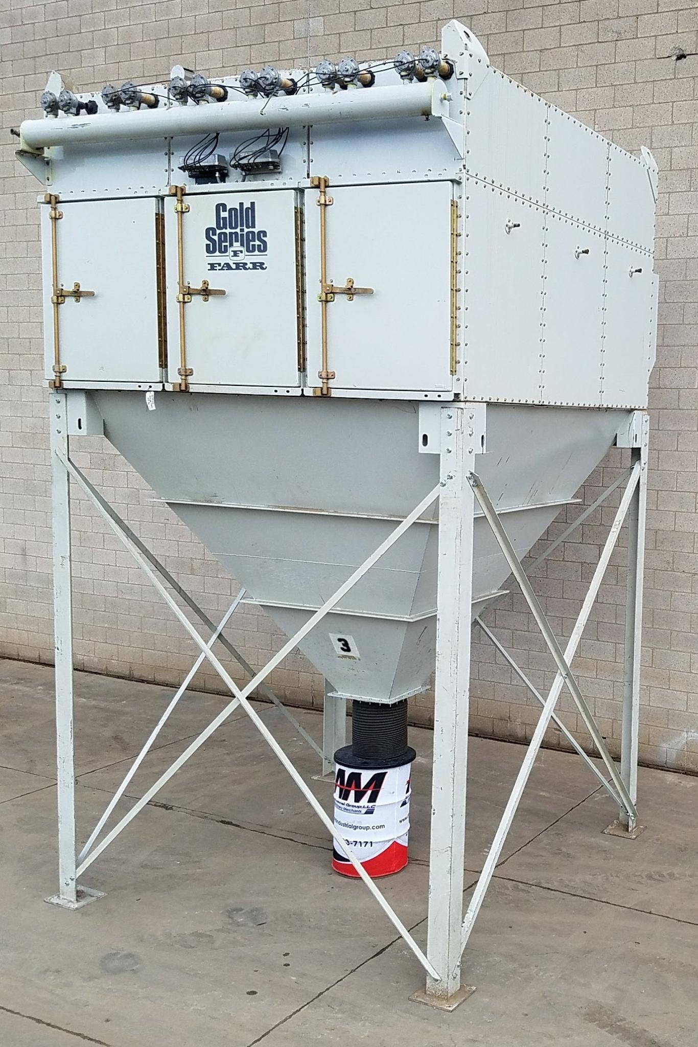 30,000 cfm Farr #GS-36 Cartridge Dust Collector