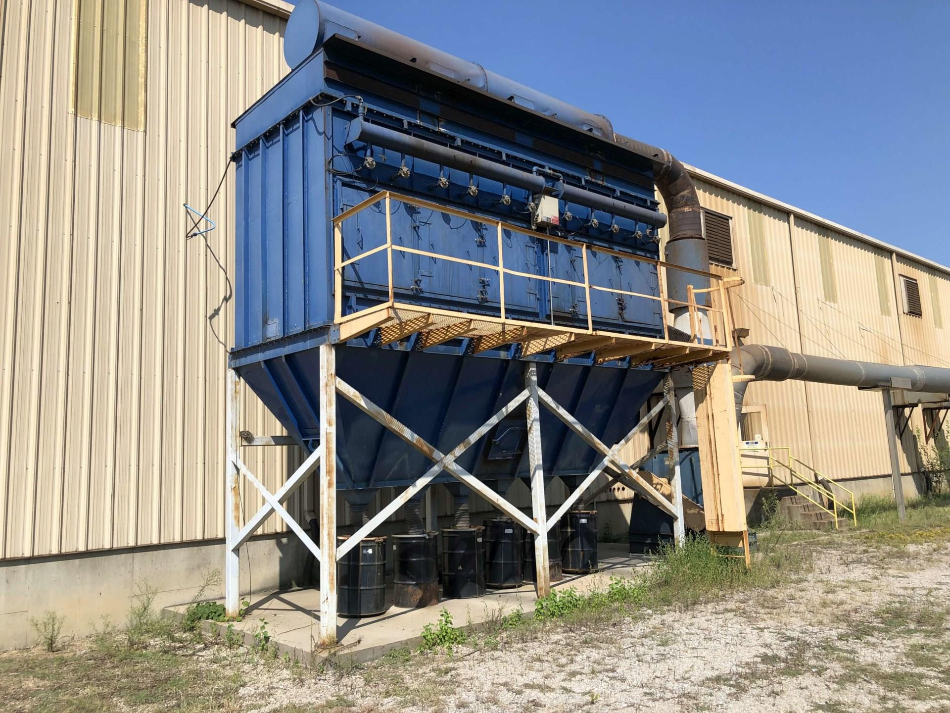 32,000 cfm Rodrigue #CA-55 Cartridge Dust Collector