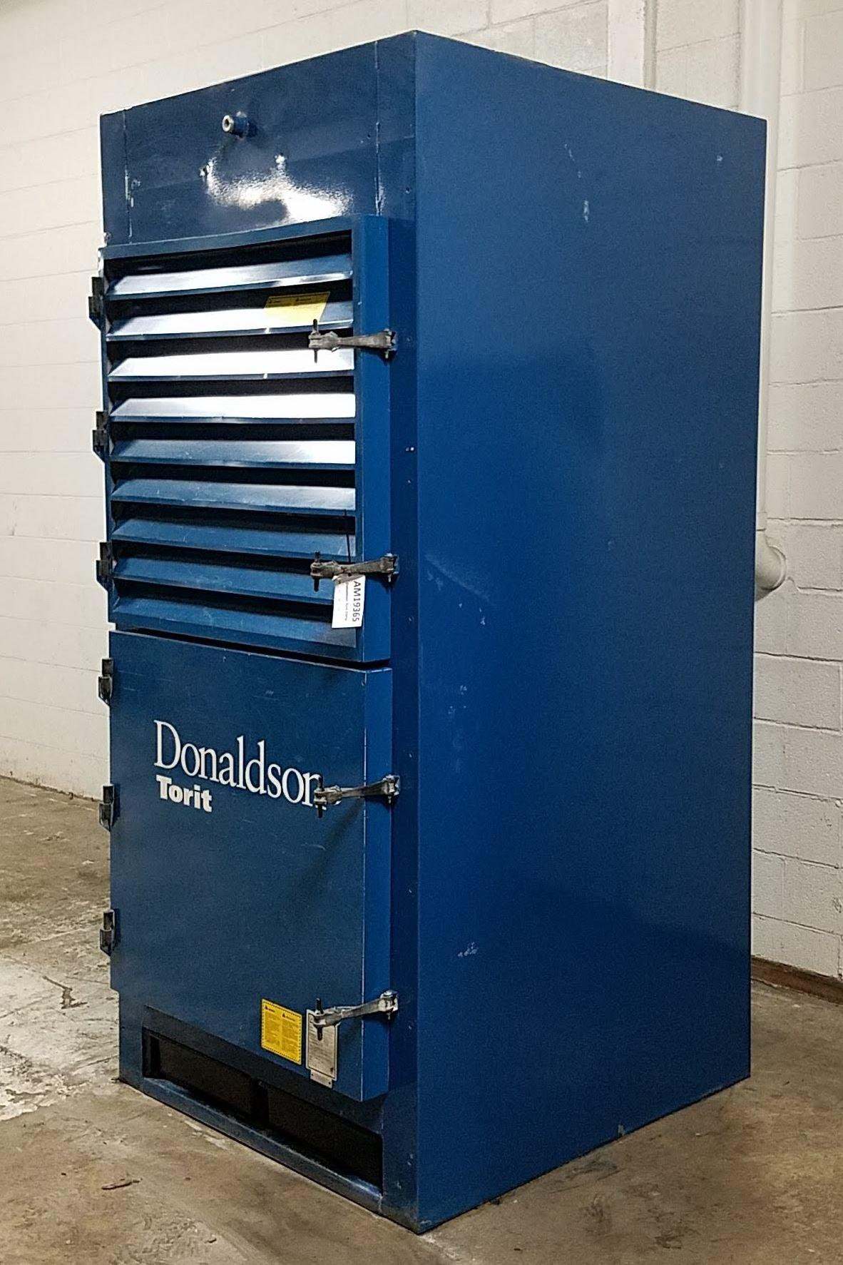5,500 cfm Donaldson Torit #DWS-6 Booth & Backdraft Dust Collector