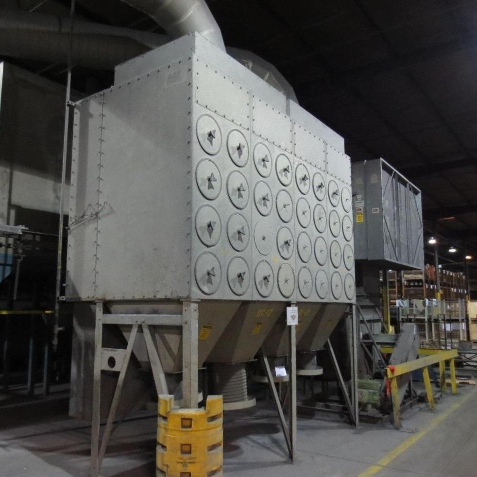 40,000 cfm AAF #4RC64 Cartridge Dust Collector