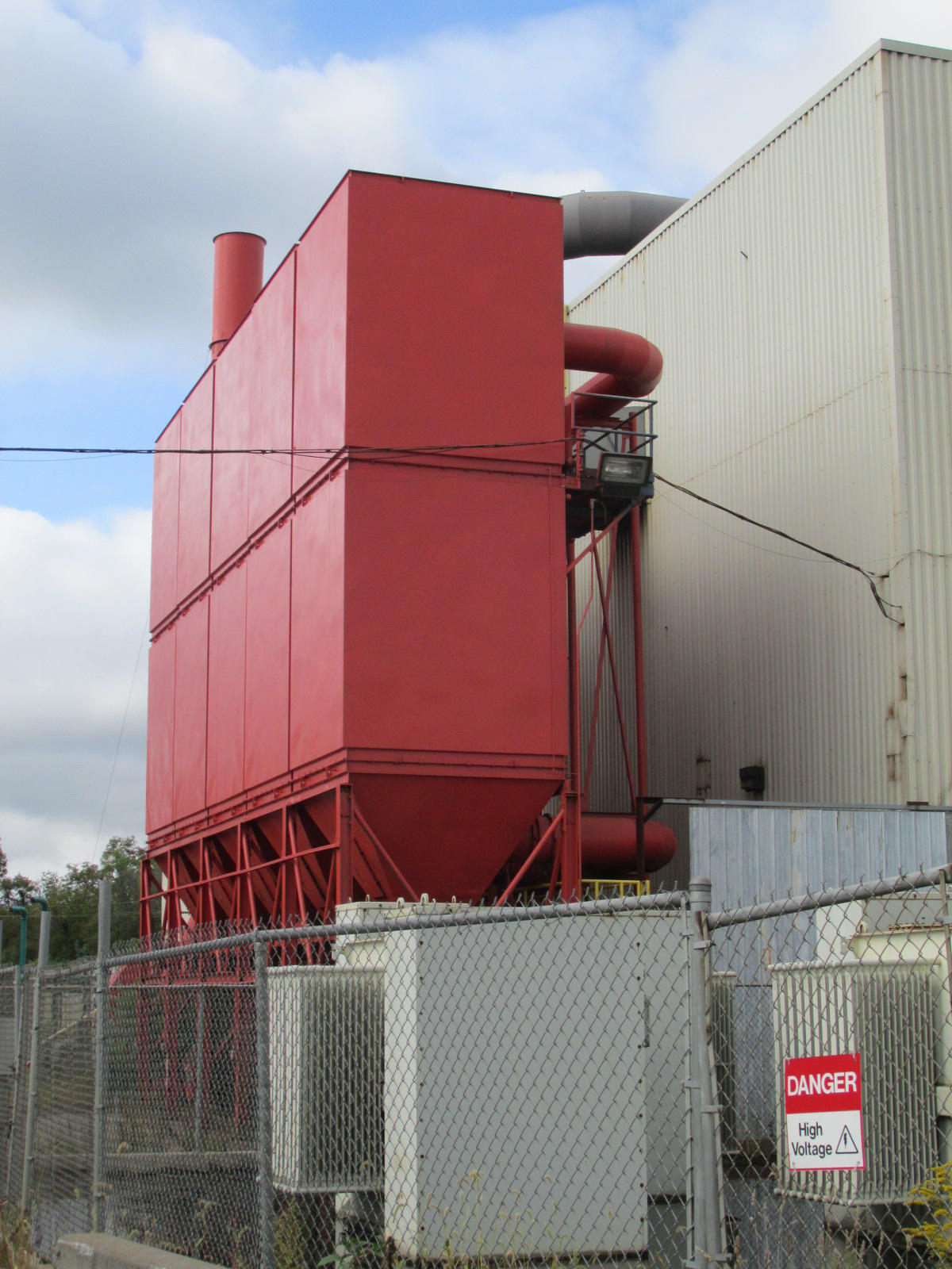 56,000 cfm Mikro-Pul #180-12-20 TRH 5-Module Baghouse Dust Collector