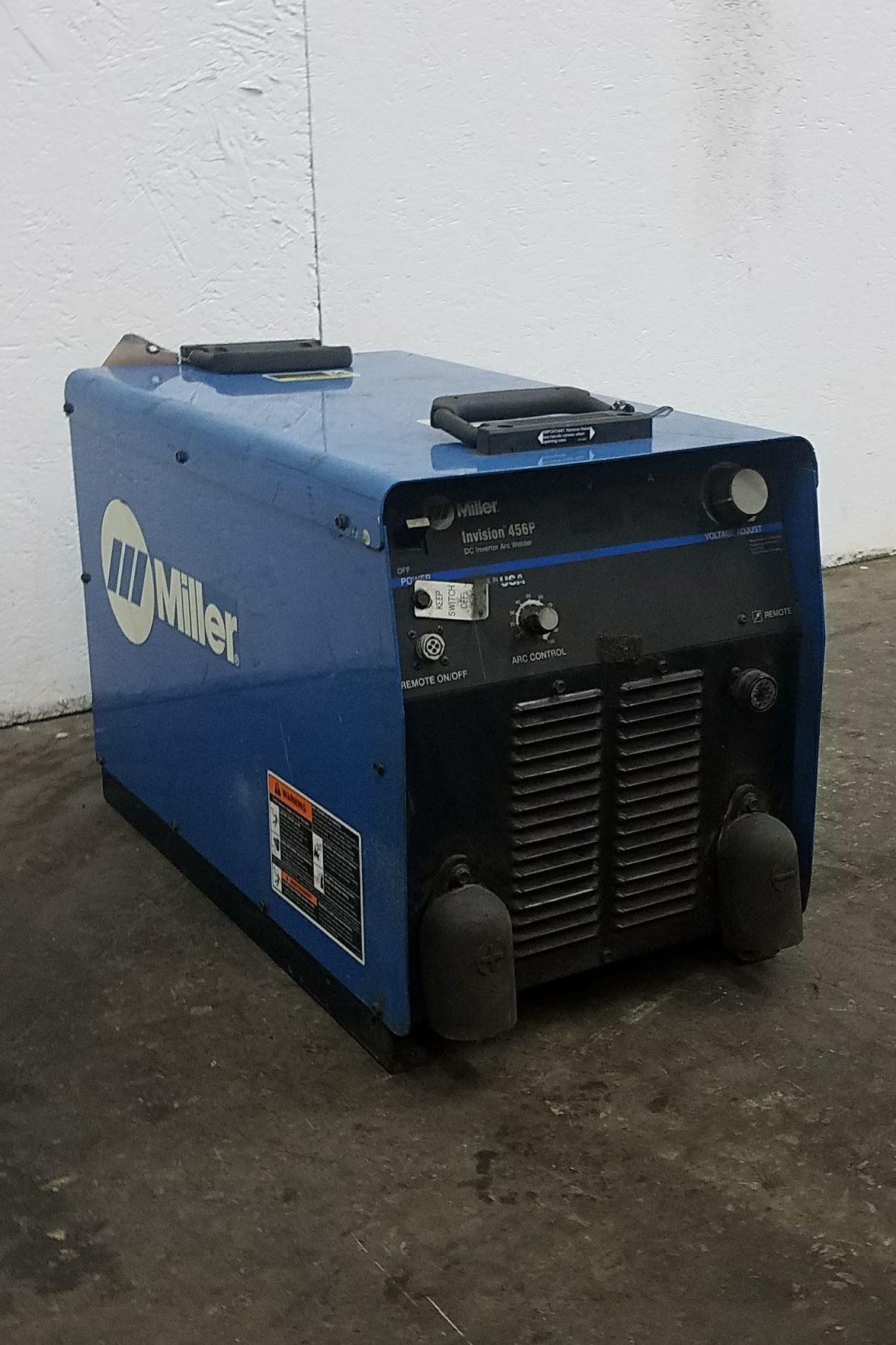 Miller Invision #456P Welding Machinery