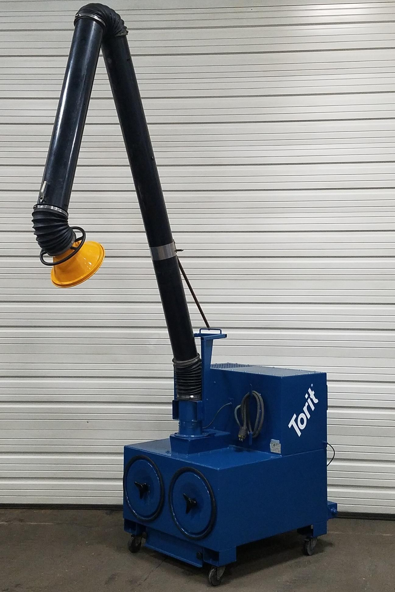 1,100 cfm Donaldson Torit #PCPT-1100 Portable Dust Collector