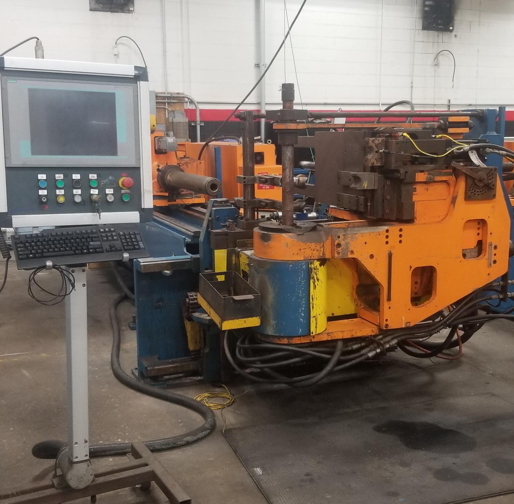 "3-1/2"" Addison McKee #DB-89CBE CNC Tube Bender"