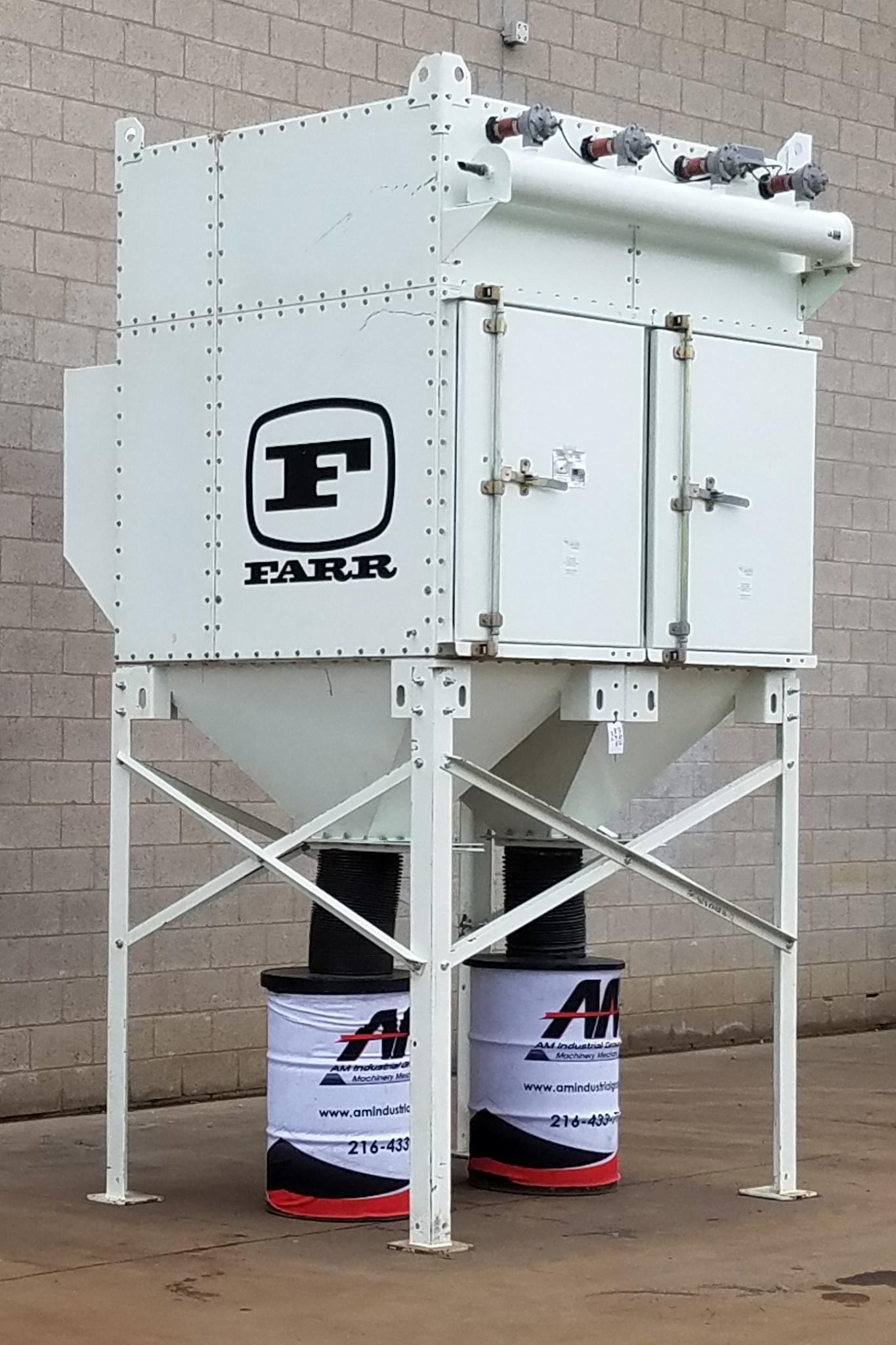 10,000 cfm Camfil Farr #GS-12 Cartridge Dust Collector