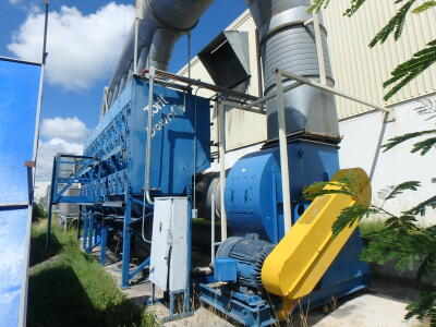 65,000 cfm Donaldson Torit #DFT4-112 Cartridge Dust Collector