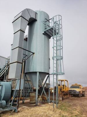 16,000 cfm Donaldson Torit #156RF8 Baghouse Dust Collector
