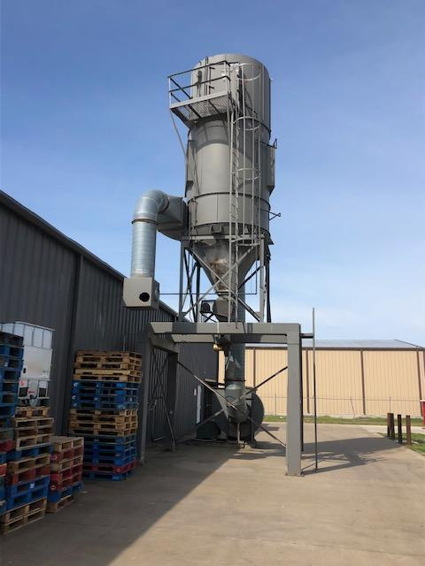 15,000 cfm Pneumafil #8.5-156-8 Baghouse Dust Collector