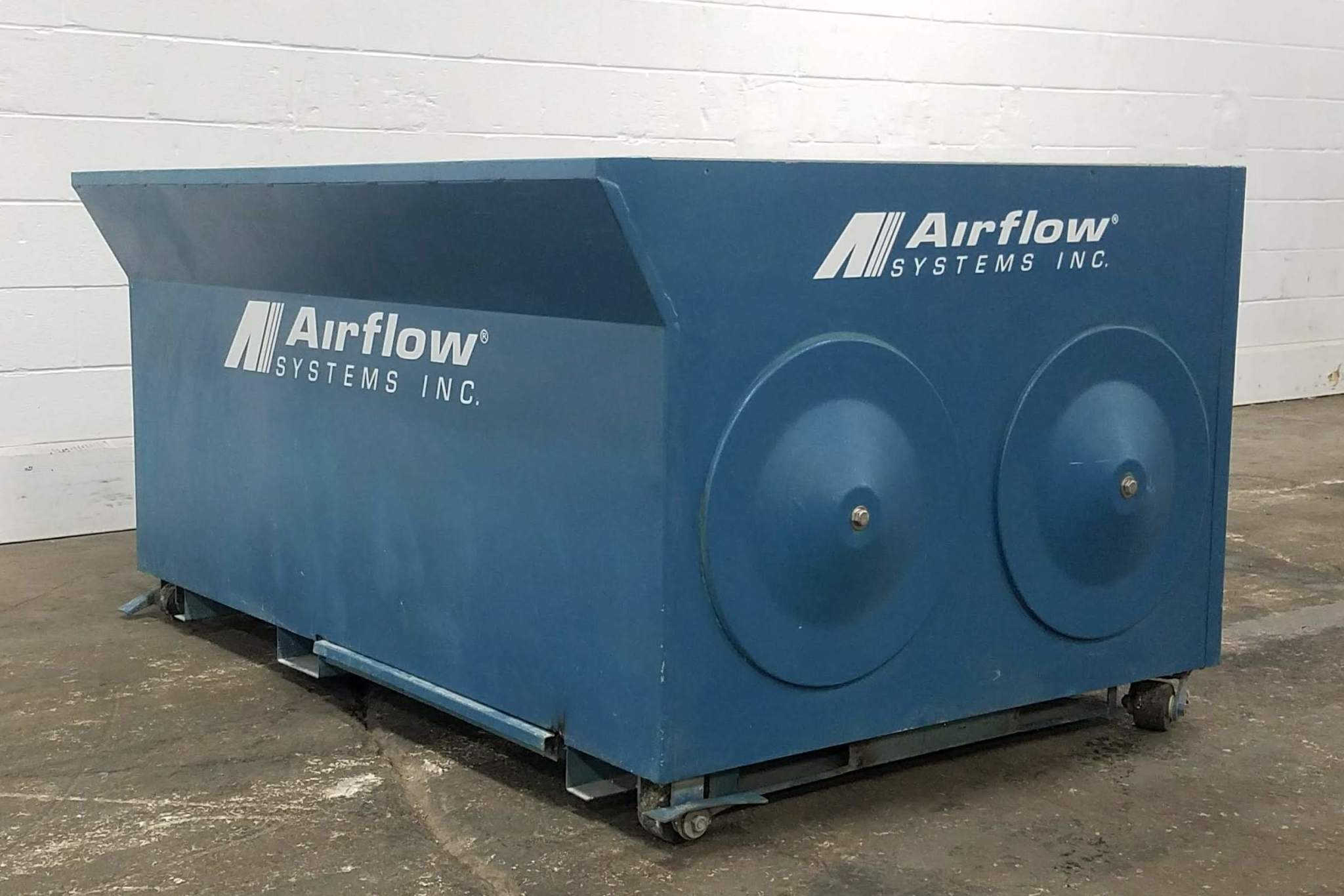 3,000 cfm Airflow Systems Downdraft Dust Collection Table
