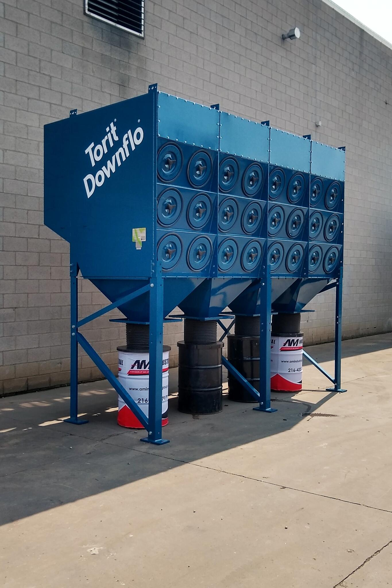 25,000 cfm Donaldson Torit #DFT3-48 Cartridge Dust Collection System