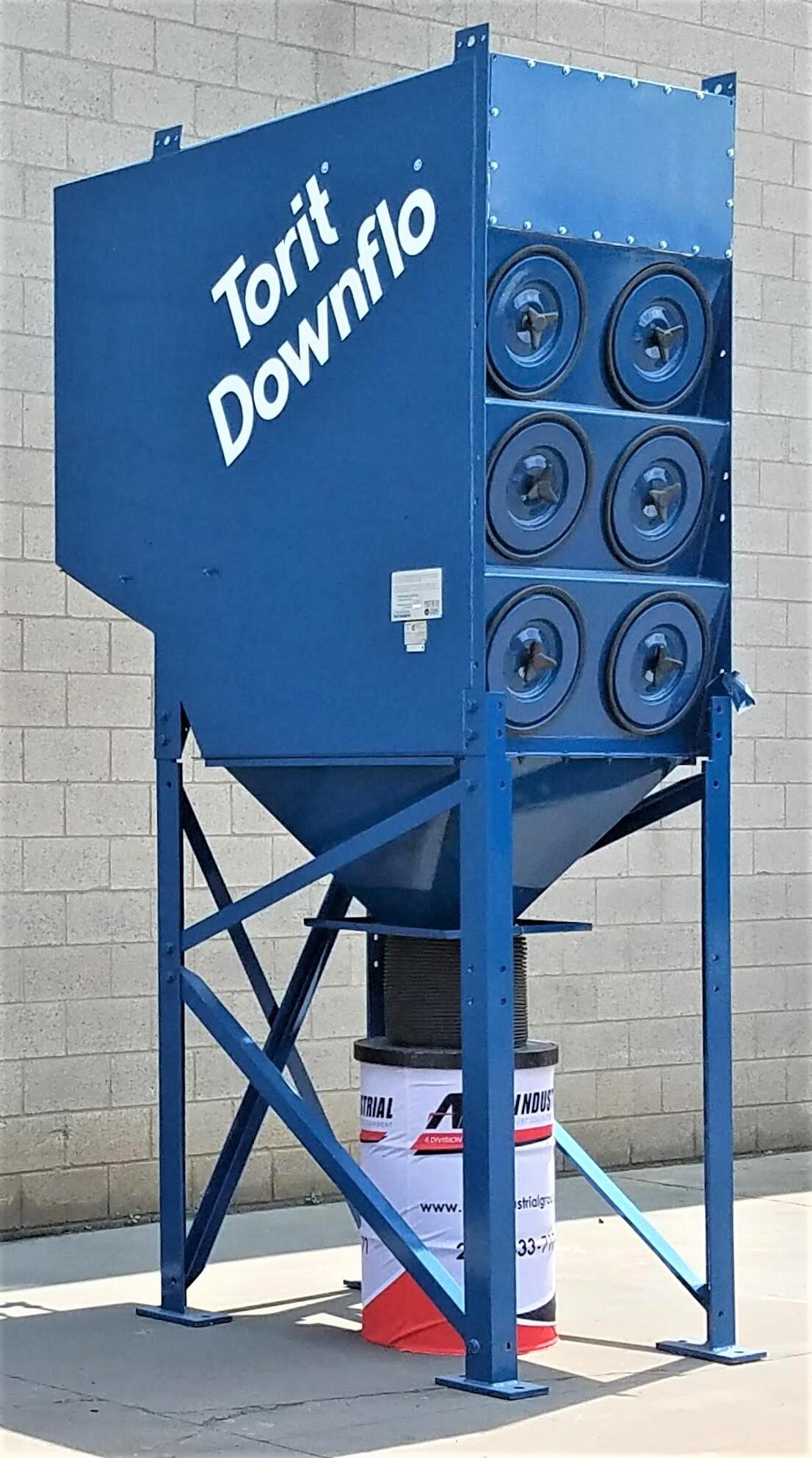 6,000 cfm Donaldson Torit #DFT3-12 Cartridge Dust Collector