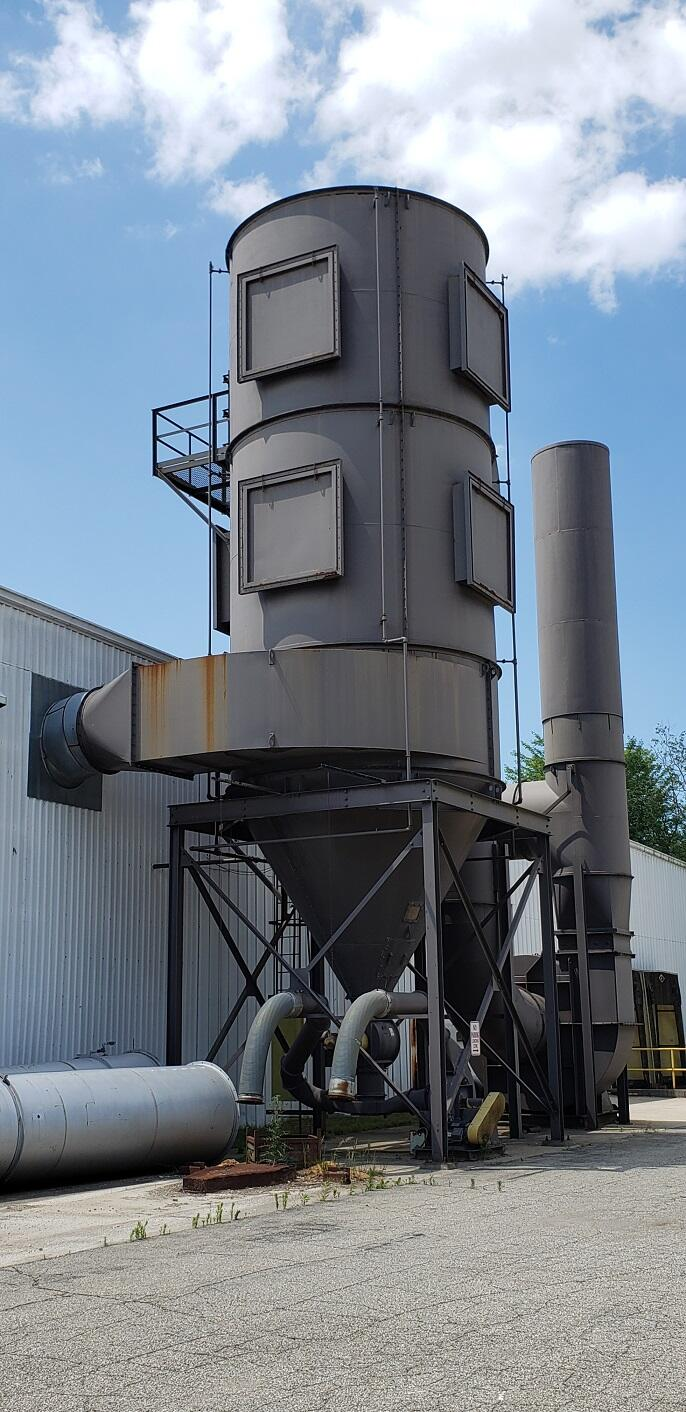 60,000 cfm Waltz-Holst #12-456-7045 Baghouse Dust Collector