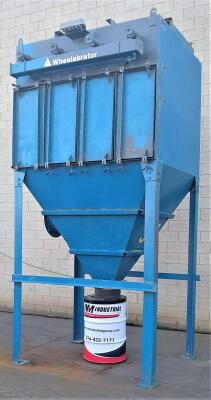 10,000 cfm Wheelabrator #44 WCC 36 Cartridge Dust Collector