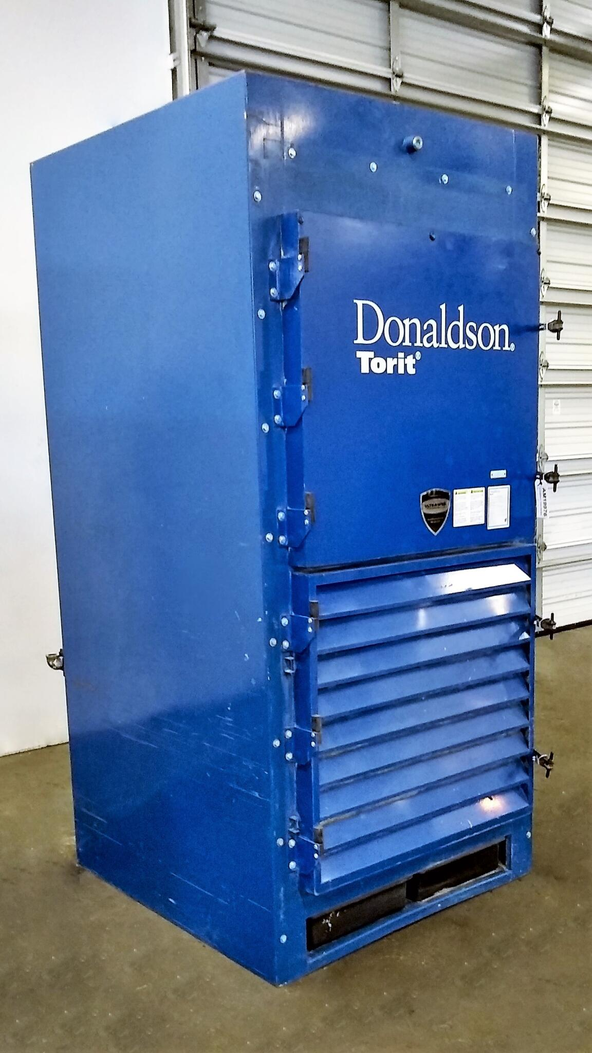 4,500 cfm Donaldson Torit #DWS4 Power Module Booth & Backdraft Dust Collector