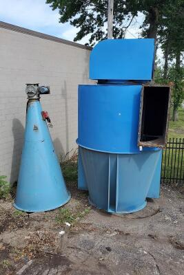 20,000 cfm Magnatech Cyclone Dust Collector