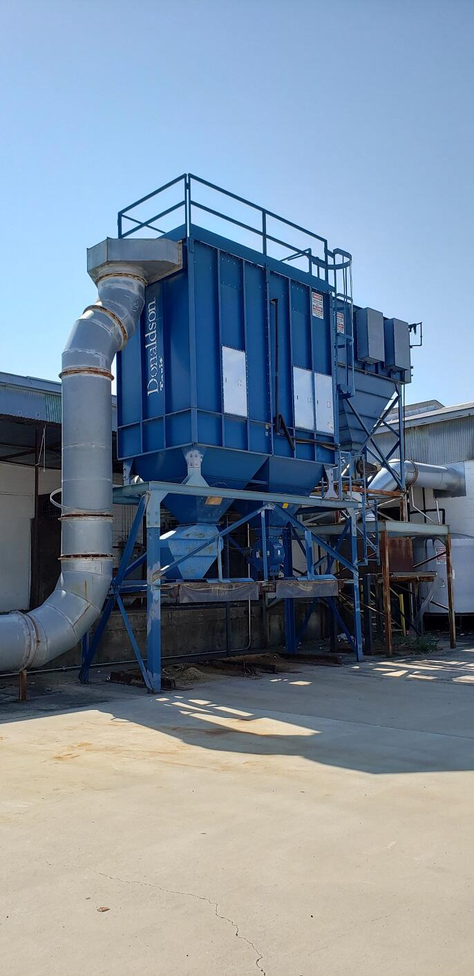 20,000 cfm Donaldson Torit #162MBT8 Baghouse Dust Collector
