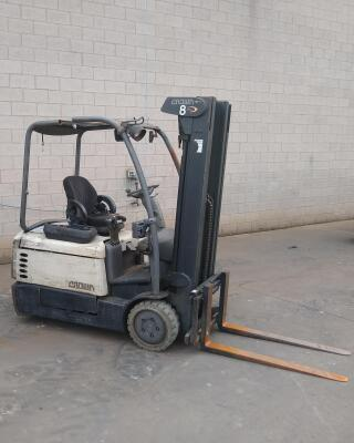 Crown #SC4540-35 Forklift with Cascade Sideshift