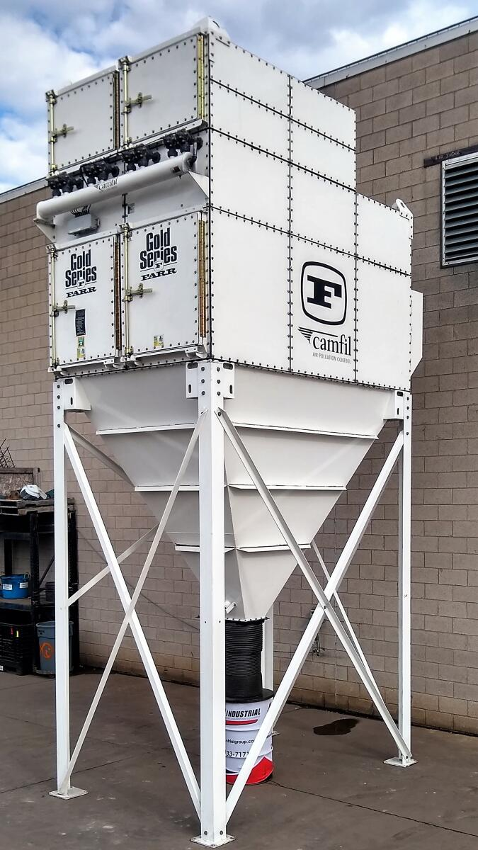 Additional image #1 for 20,000 cfm Camfil Farr #GS-24 Cartridge Dust Collector
