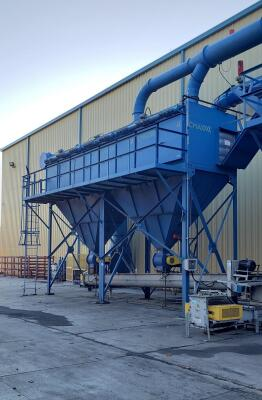 50,000 cfm Imperial #CM-064 Cartridge Dust Collector