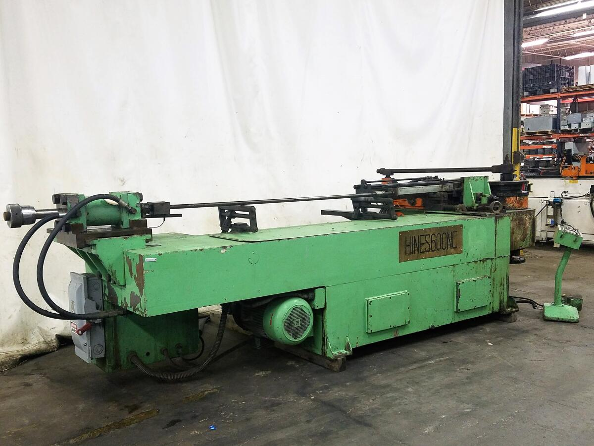"Additional image #1 for 6"" (150mm) Hines #600 NC Tube Bender"