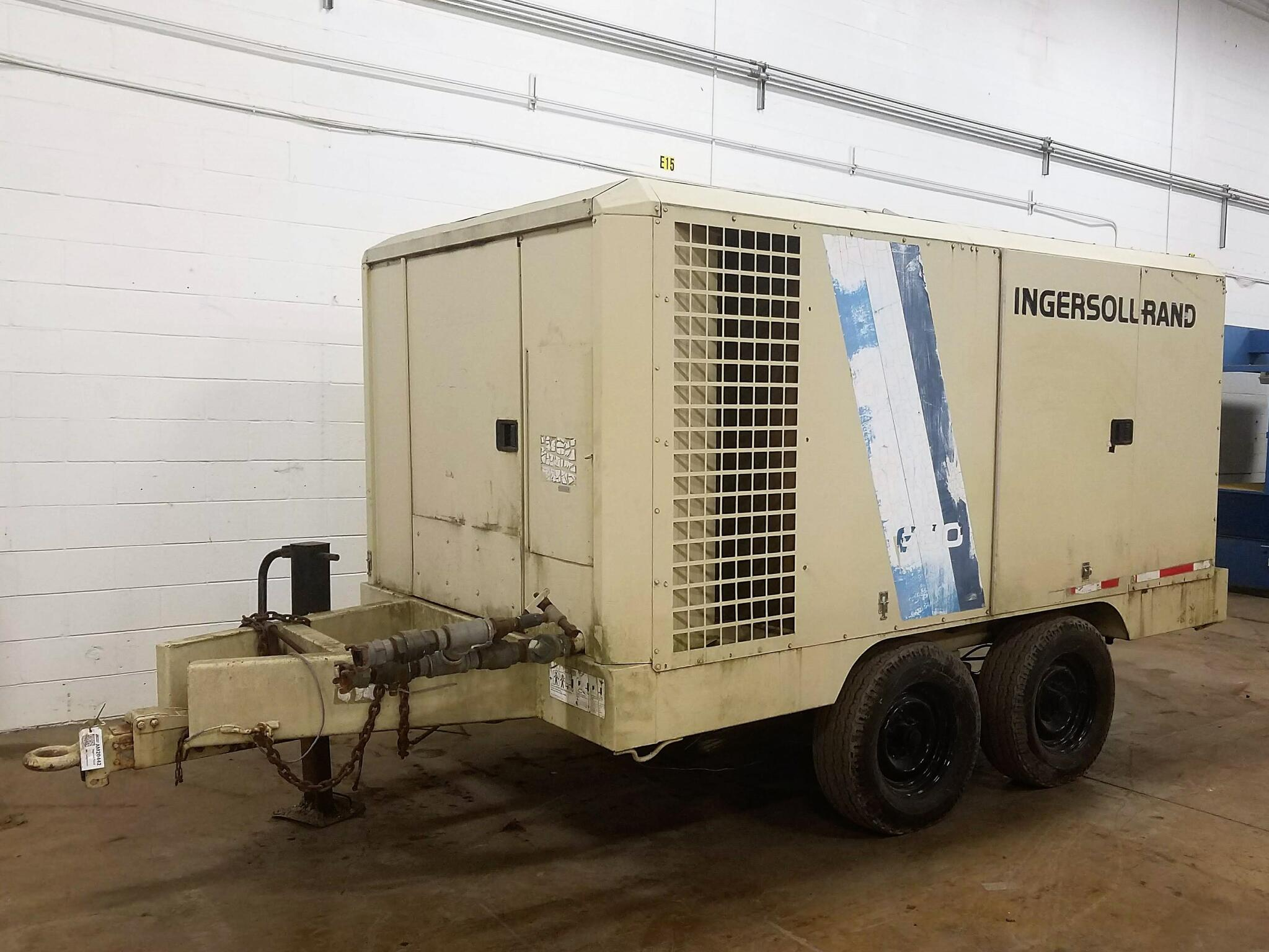 Ingersoll Rand #600 Portable Air Compressor