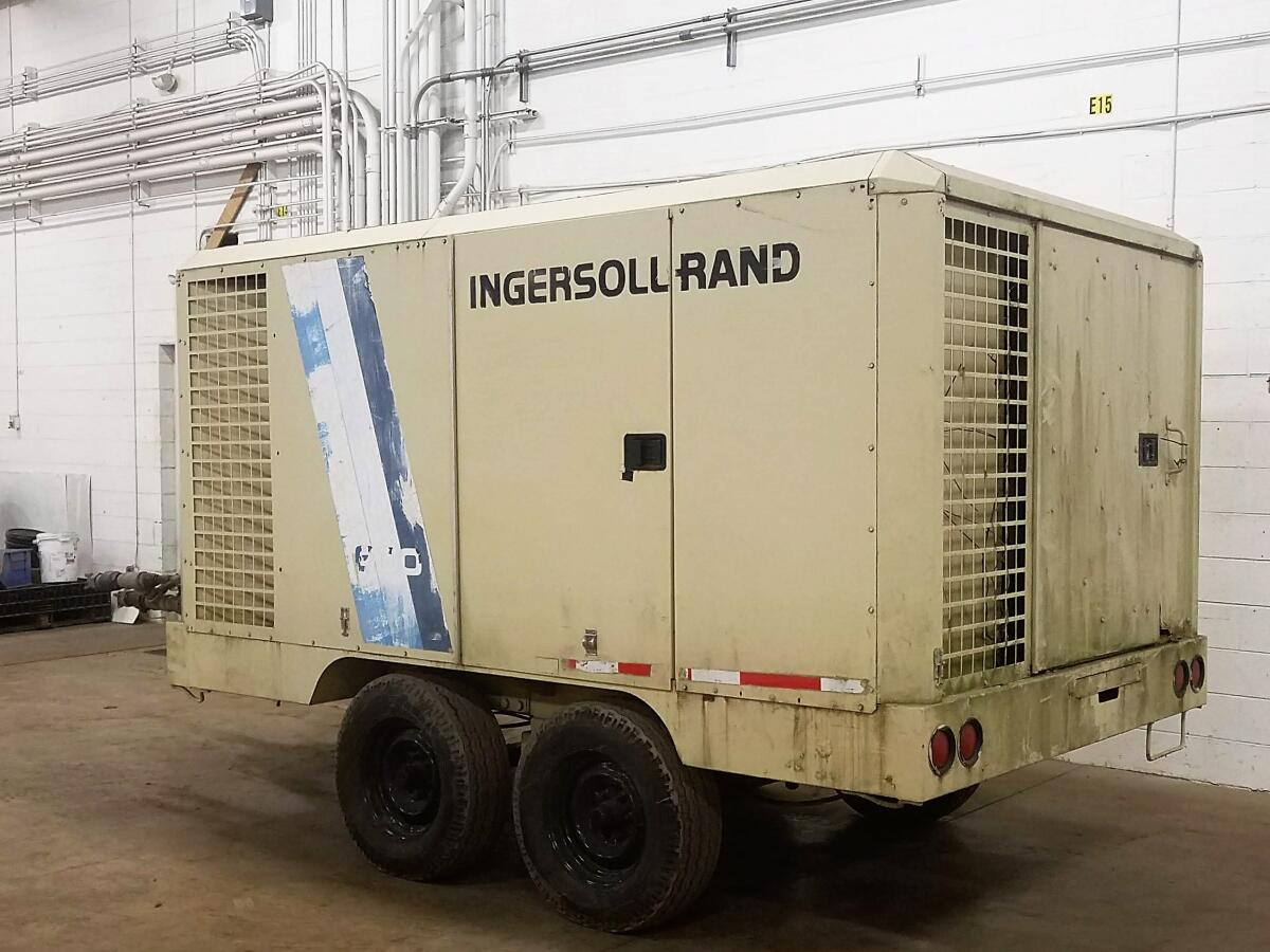 Additional image #1 for Ingersoll Rand #600 Portable Air Compressor