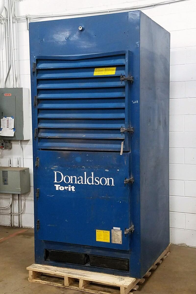 Additional image #1 for 5,500 cfm Donaldson Torit #DWS-6 Backdraft Dust Collector