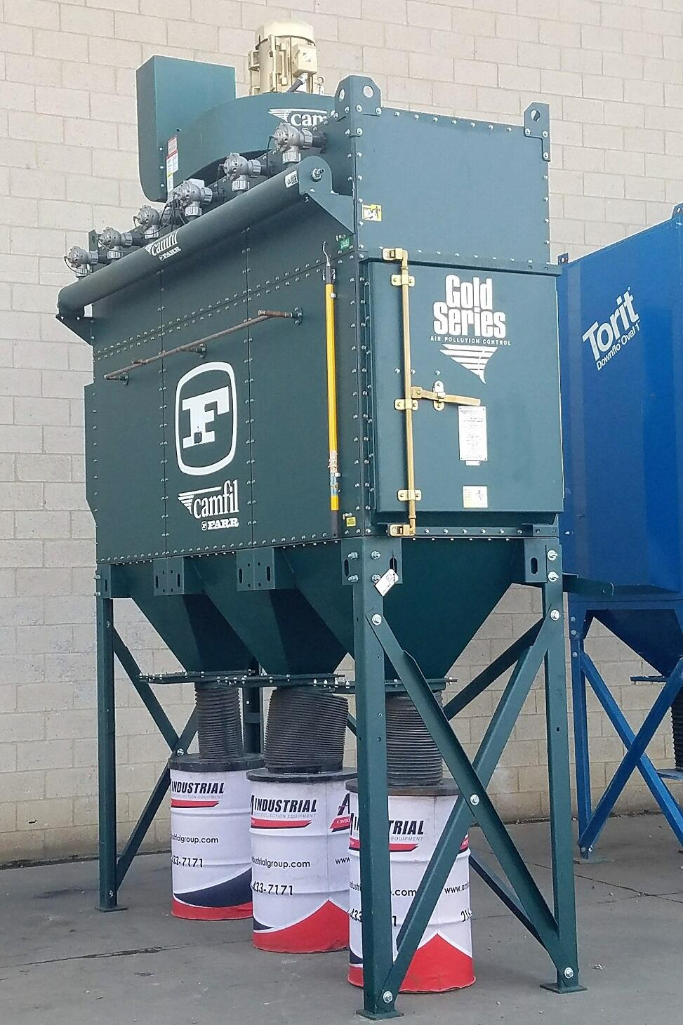 10,000 cfm Camfil Farr #GS-12L Cartridge Dust Collector
