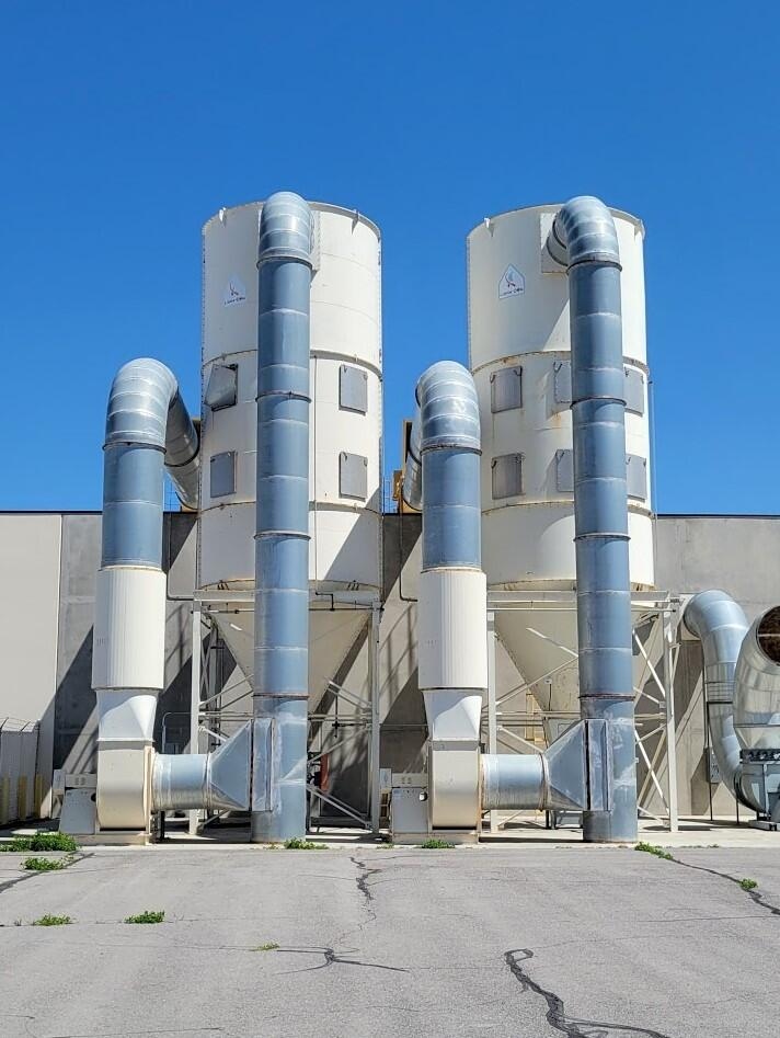 Additional image #2 for 70,000 cfm Ligna-Con Filter #14.5-500-12 Baghouse Dust Collector